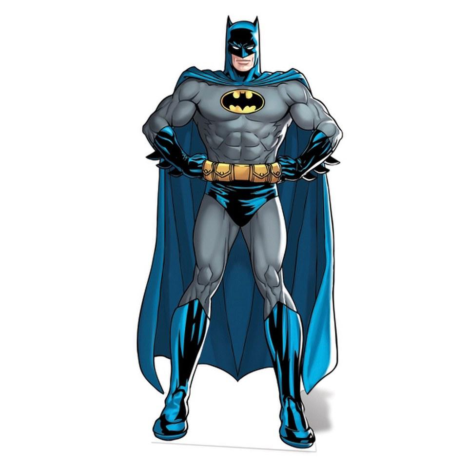 Dc comics batman cut out merchandise zavvi - Batman contre joker ...