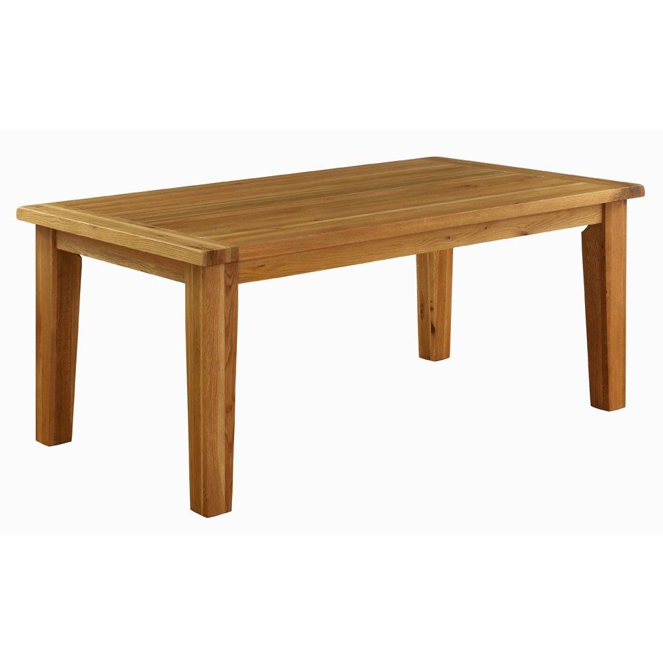 Kitchen Tools Vancouver: Vancouver Oak VXD009 Fixed Top Dining Table - Large