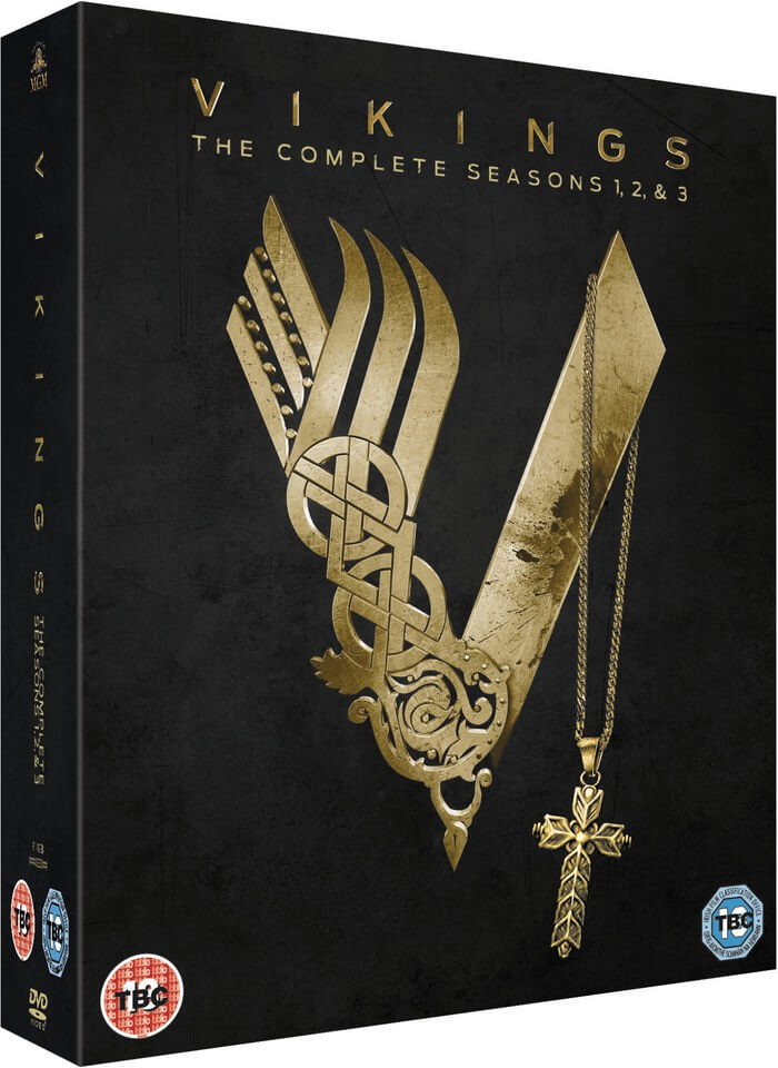 Vikings Season Season 1 3 Dvd Zavvi