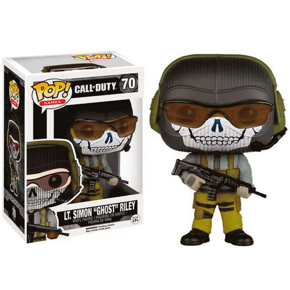 Here Be Porpoises Call Of Duty Ghosts: Call Of Duty Lt. Simon Ghost Riley Pop! Vinyl Figure