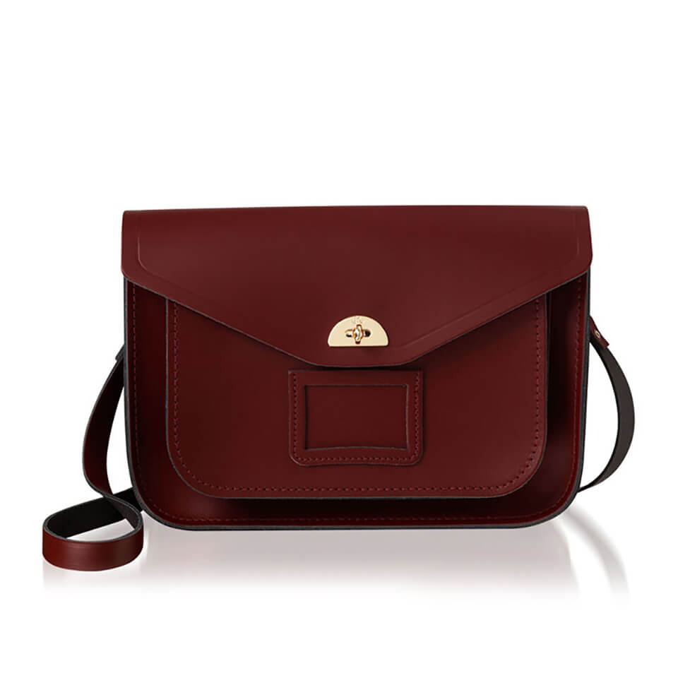 The Cambridge Satchel Company Women S Twist Lock Satchel Oxblood