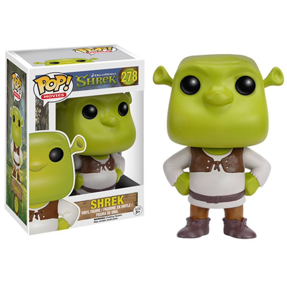 Shrek Pop Vinyl Figure Merchandise Zavvi