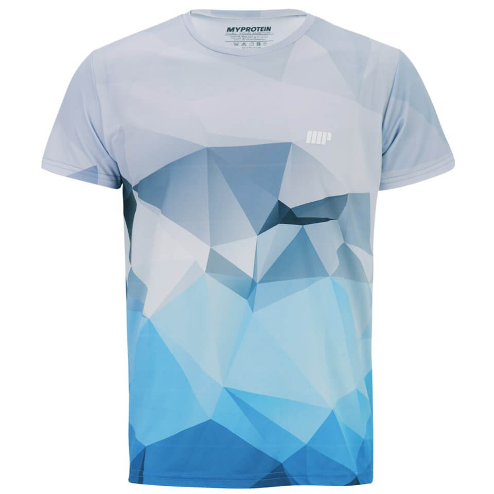 Best Diet Pills >> Myprotein Men's Geometric Printed Training Shirt - Light ...