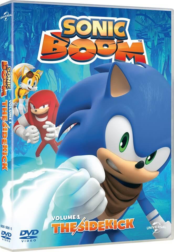 Sonic Boom The Sidekick Includes Poster Dvd Zavvi