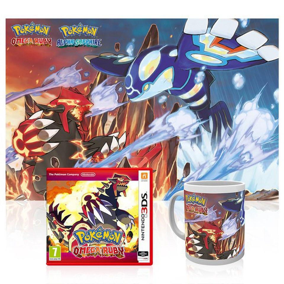 Pok 233 Mon Omega Ruby Poster Amp Mug Pack Nintendo Official