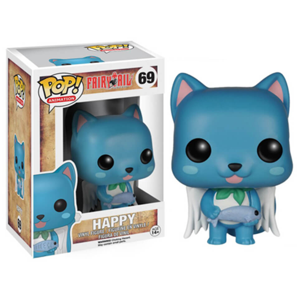 Fairy Tail Happy Pop Vinyl Figure Merchandise Zavvi