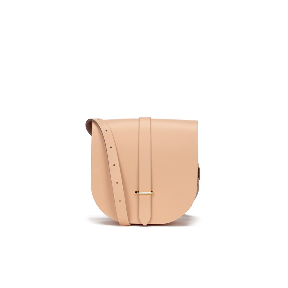 The Cambridge Satchel Company Women's Saddle Bag - Peach Peony