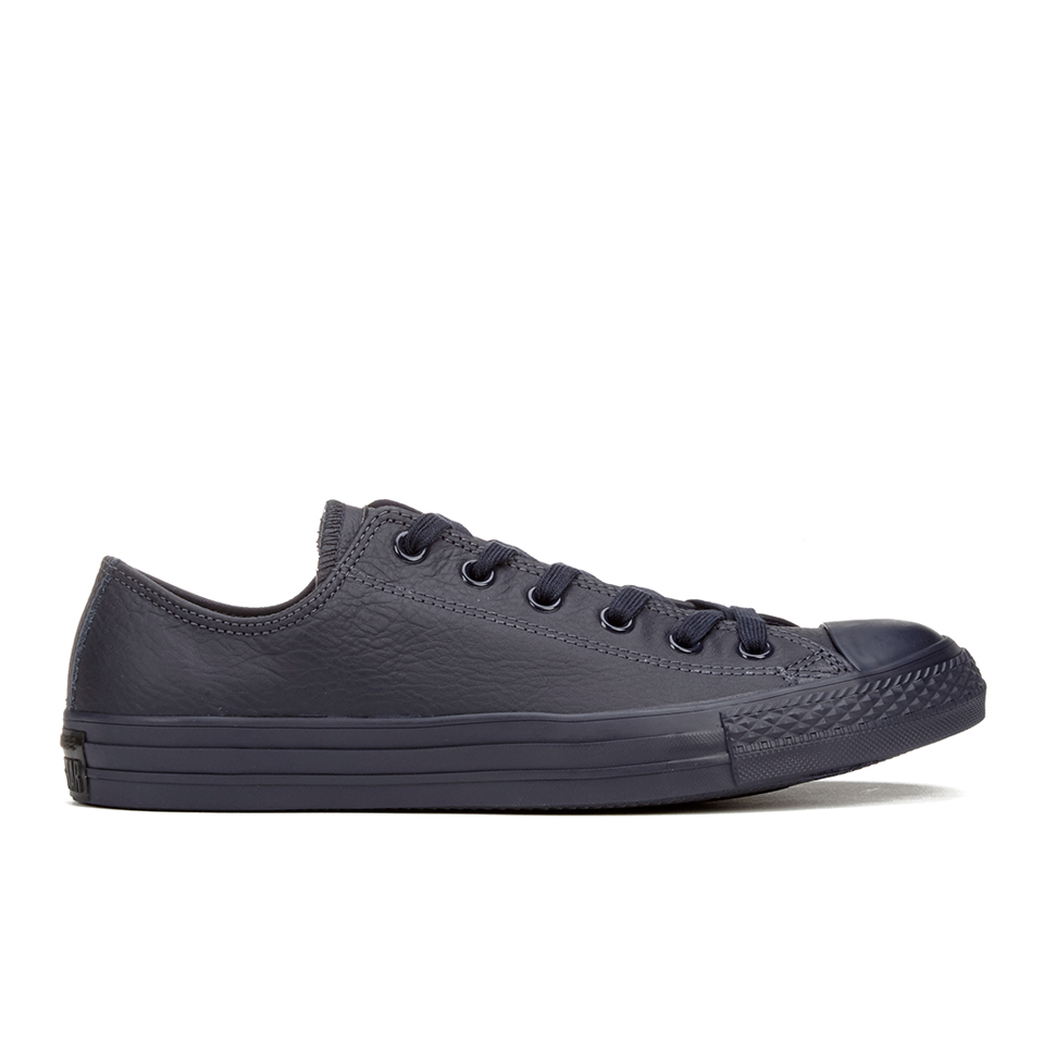 Converse men 39 s chuck taylor all star mono craft leather ox for Converse chuck ii craft leather low top