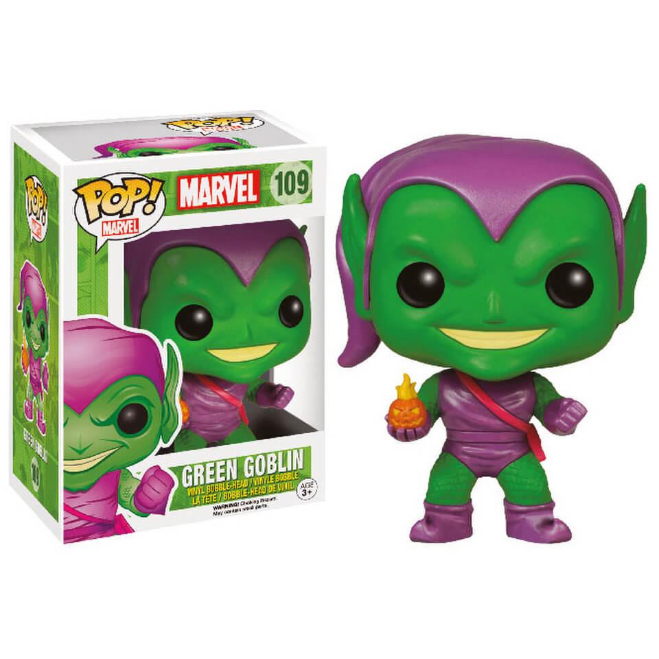 Marvel Green Goblin Pop Vinyl Bobble Head Merchandise Zavvi