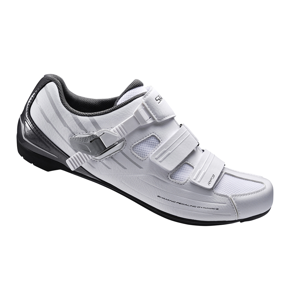Shimano RP3 SPD-SL Cycling Shoes Wide Fit - White | Shoes and overlays