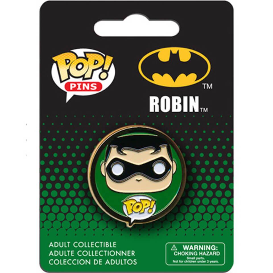 Badge Pop Pin Robin Dc Comics Batman Pop In A Box France