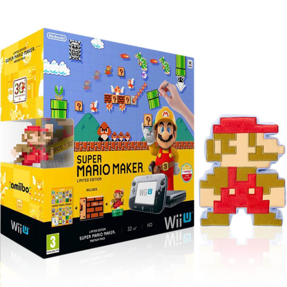 Super Mario Maker Wii U Premium Pack 8 Bit Mario Soft
