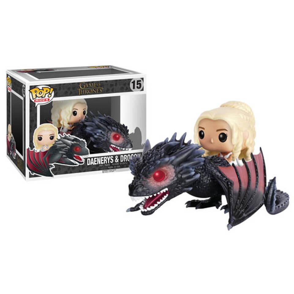 Game Of Thrones Daenerys On Drogon Pop Vinyl Ride Figure