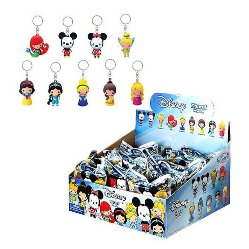 Disney 3 D Figural Foam Series 1 Key Chain Pop In A Box Us