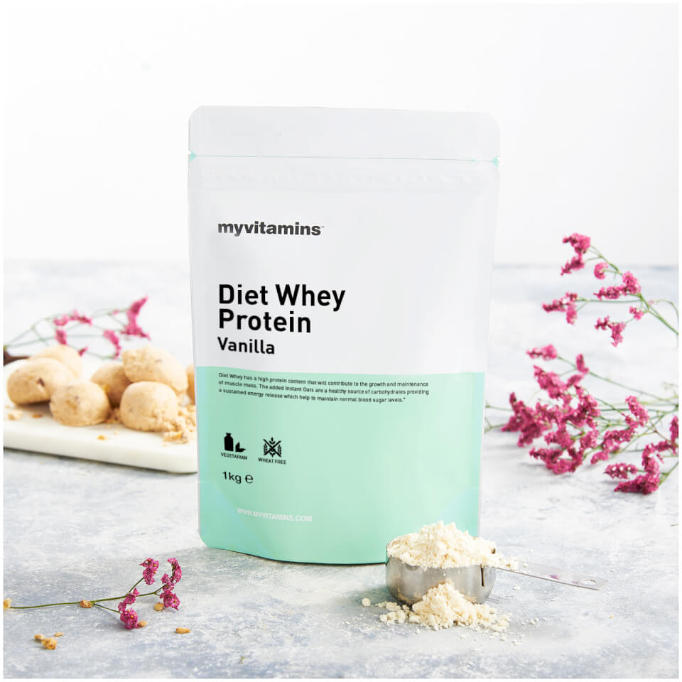 How to Diet With Whey Protein Powder