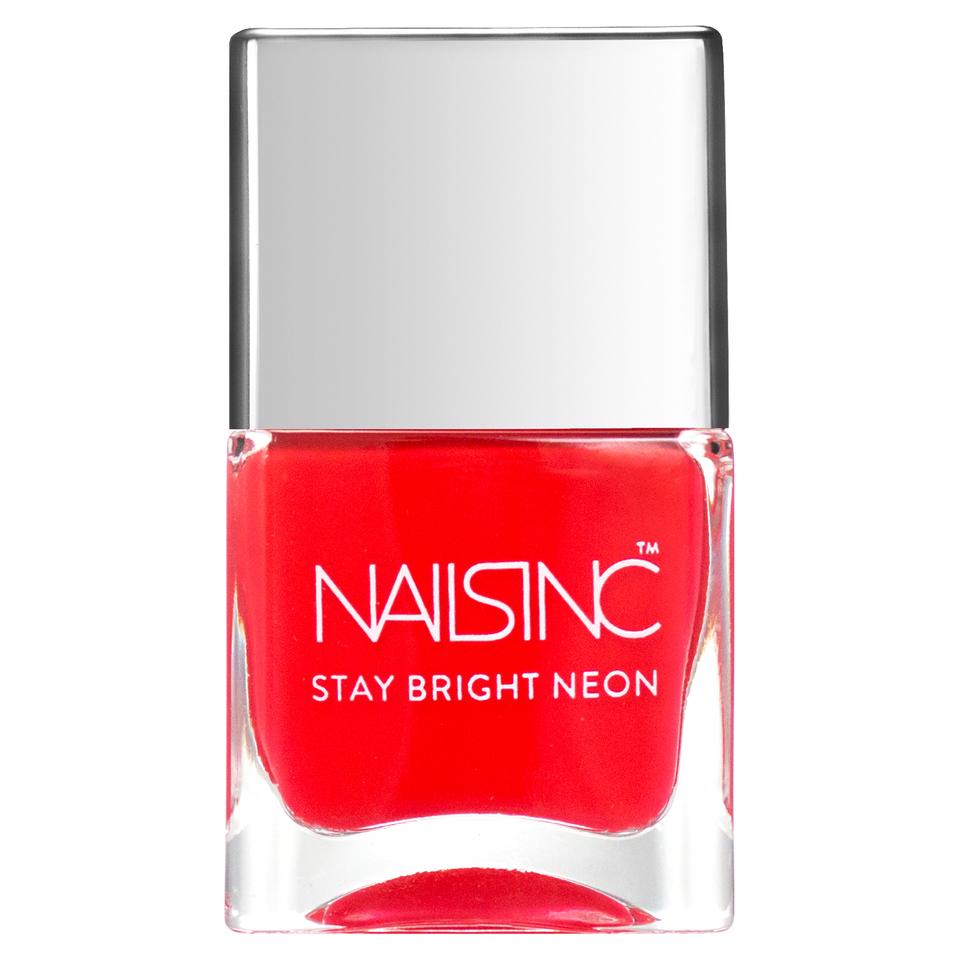 nails inc. Great Eastern Street Nail Polish - Neon Coral 14ml   Free ...