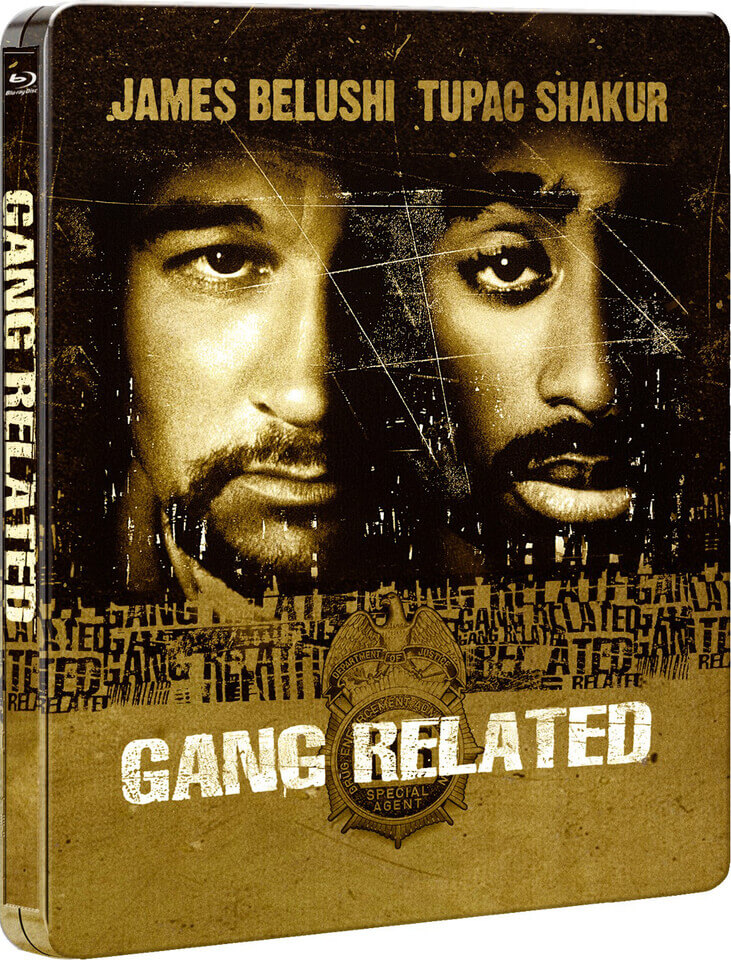 Gang Related Limited Edition Steelbook Blu Ray Zavvi