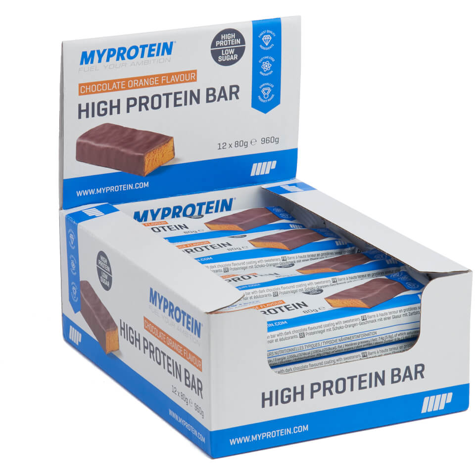 Buy High Protein Bars Myprotein Com