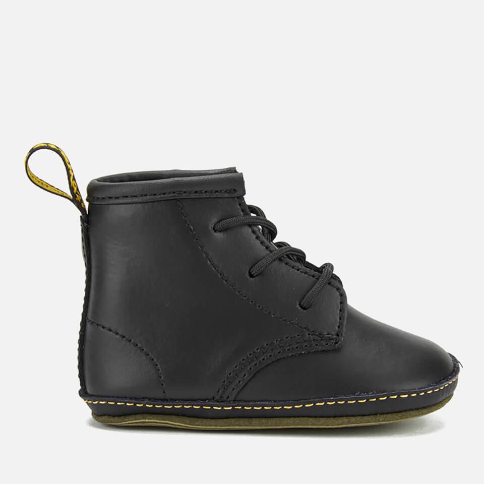 721eff67a346 Dr. Martens Babies Auburn Kid Lamper Leather Boots - Black Junior Clothing