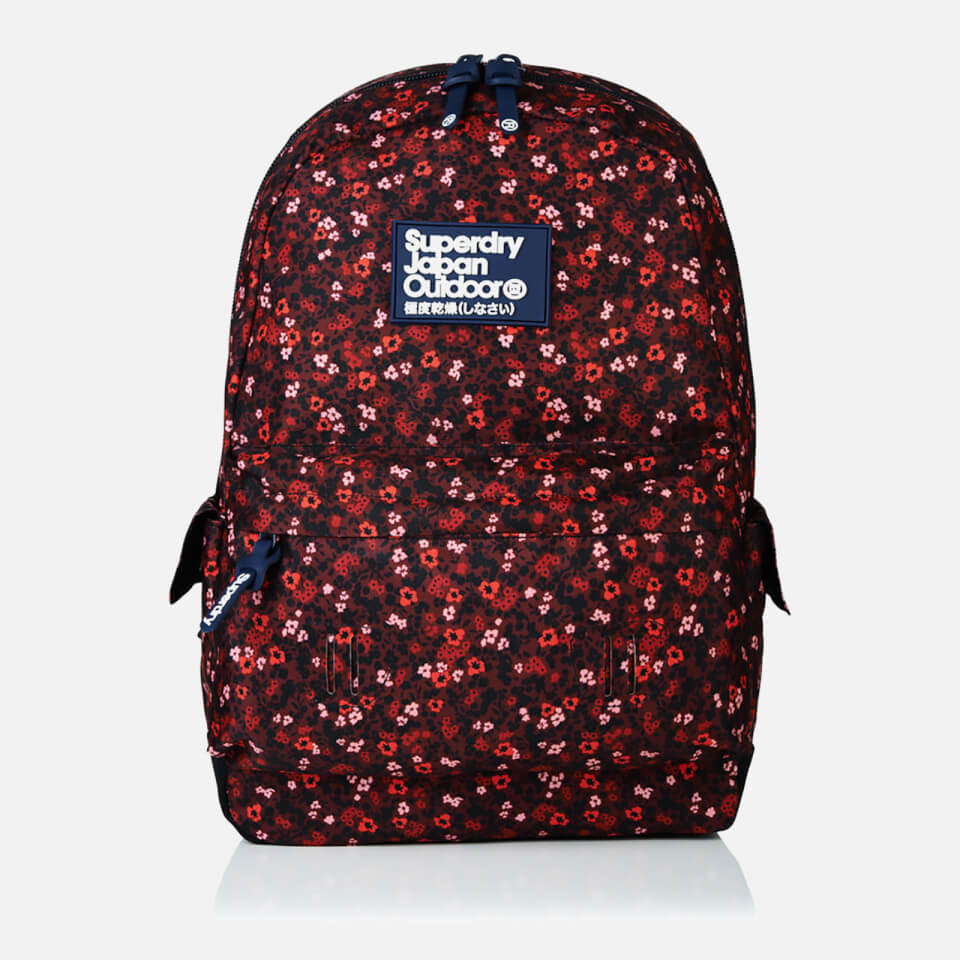 Superdry Women S Scatter Ditsy Montana Bag Berry Womens
