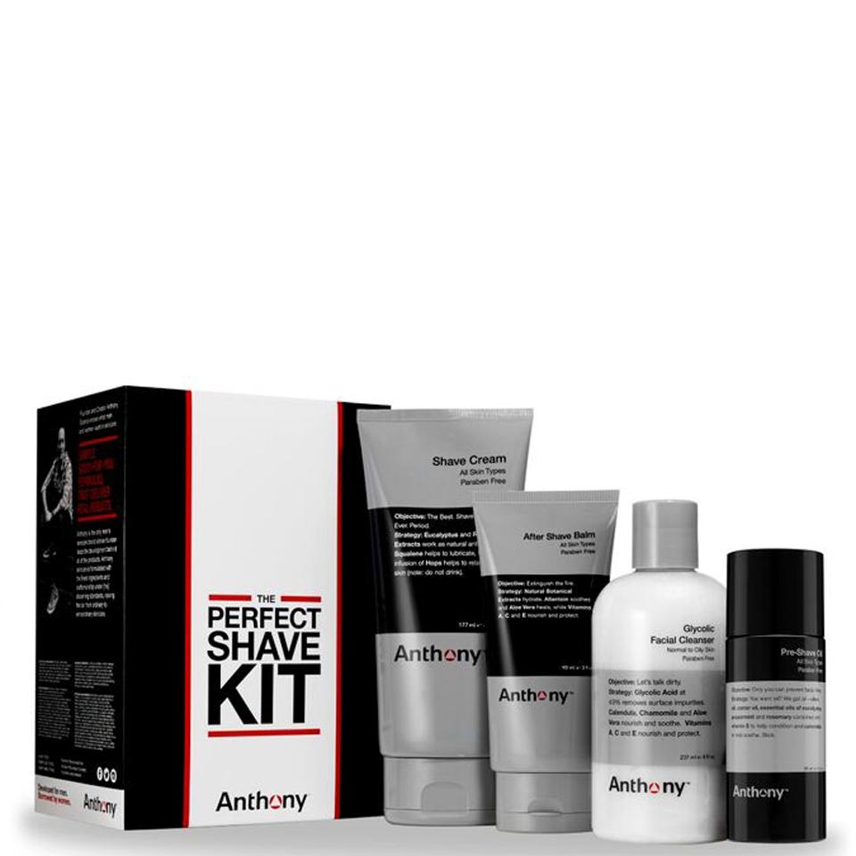 anthony the perfect shave kit buy online mankind. Black Bedroom Furniture Sets. Home Design Ideas