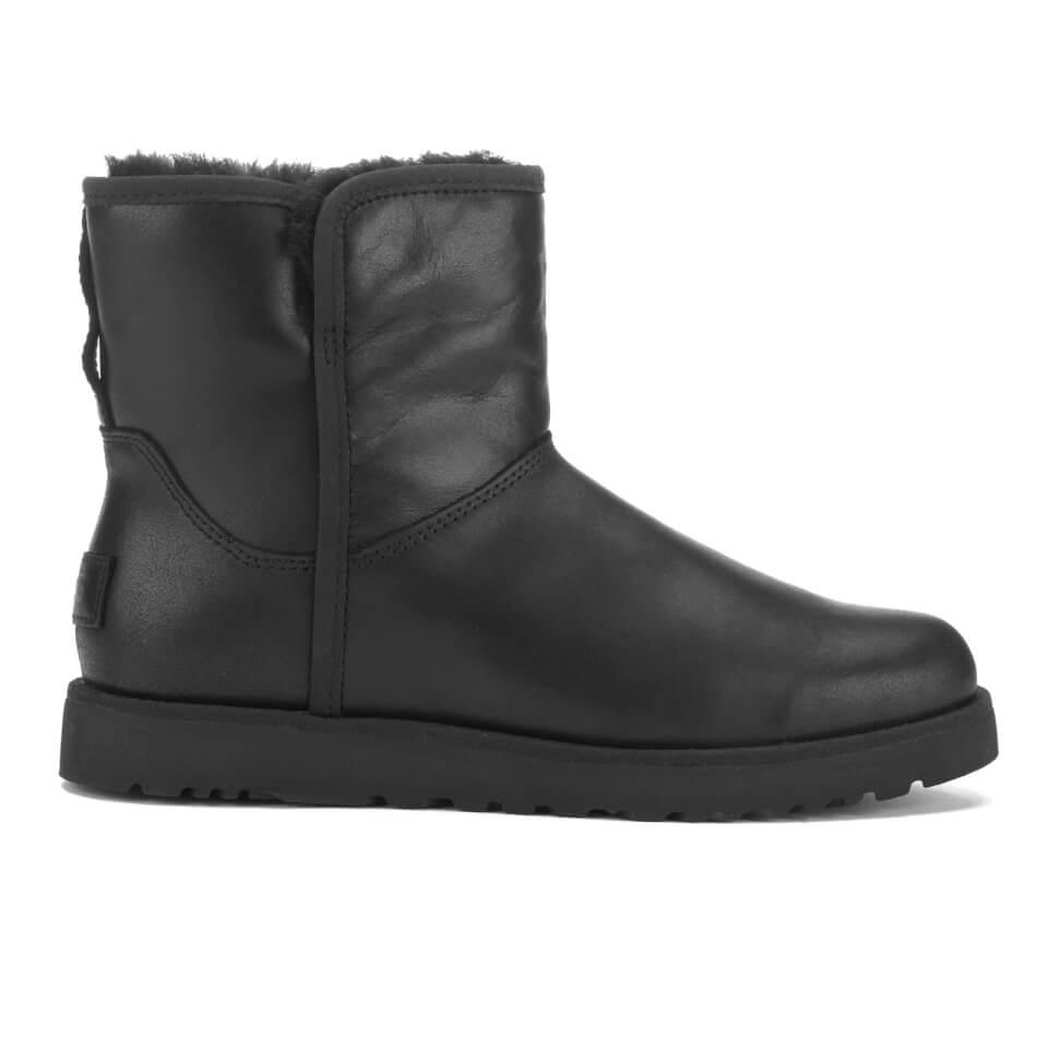 UGG Women's Cory Leather Classic Slim Sheepskin Boots ...