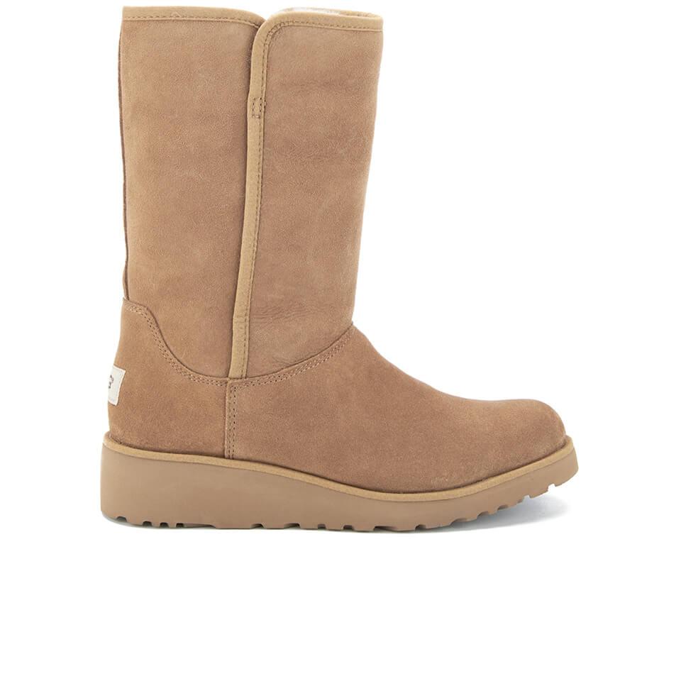 ugg s amie classic slim sheepskin boots chestnut