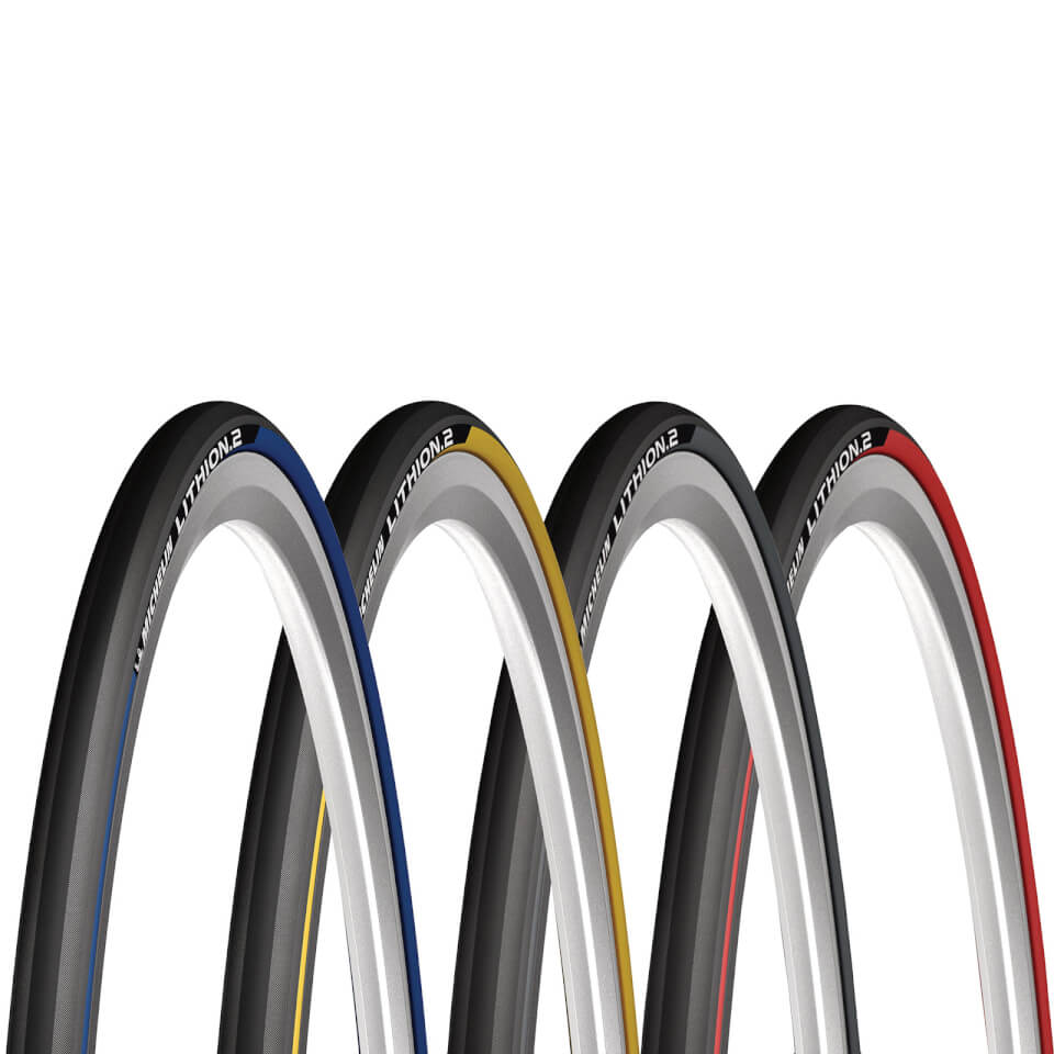 New Michelin Lithion 2  700 x 23 Clincher Folding Bead Road Bike Tire Pro