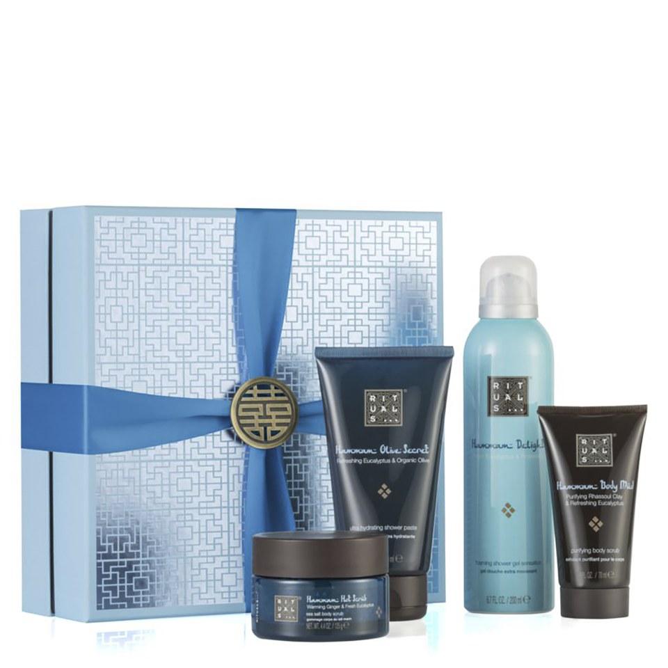 Rituals The Ritual Of Hammam Purifying Medium Gift Set Gieve Eucalyptus Hair Conditioner Health Beauty