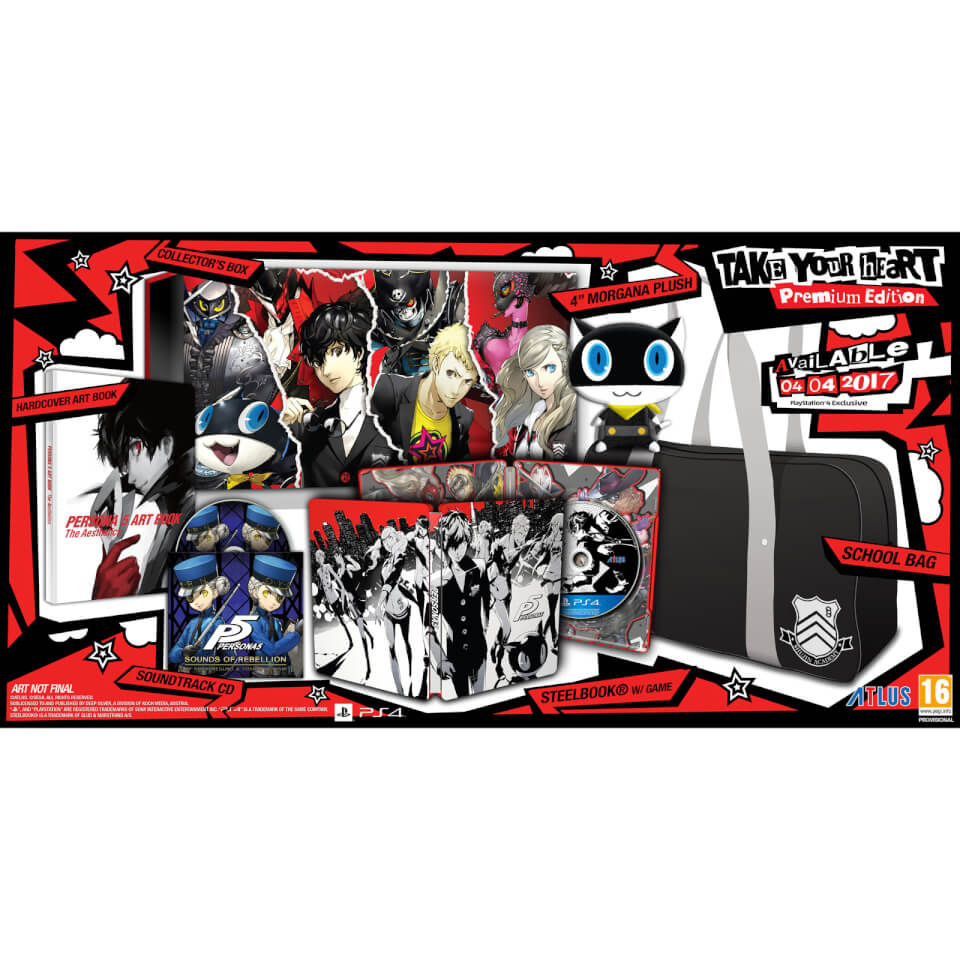 Persona 5 201 Dition Collector Ps4 Zavvi France