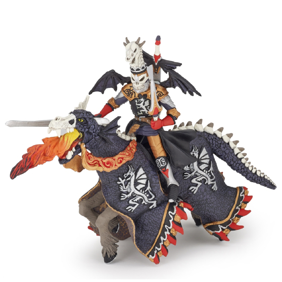 Papo Fantasy World Dragon Warrior And Horse Iwoot
