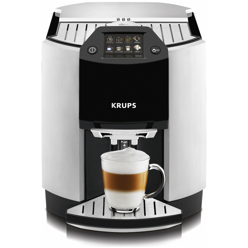 krups espresseria barista ea9010 bean to cup coffee machine iwoot. Black Bedroom Furniture Sets. Home Design Ideas