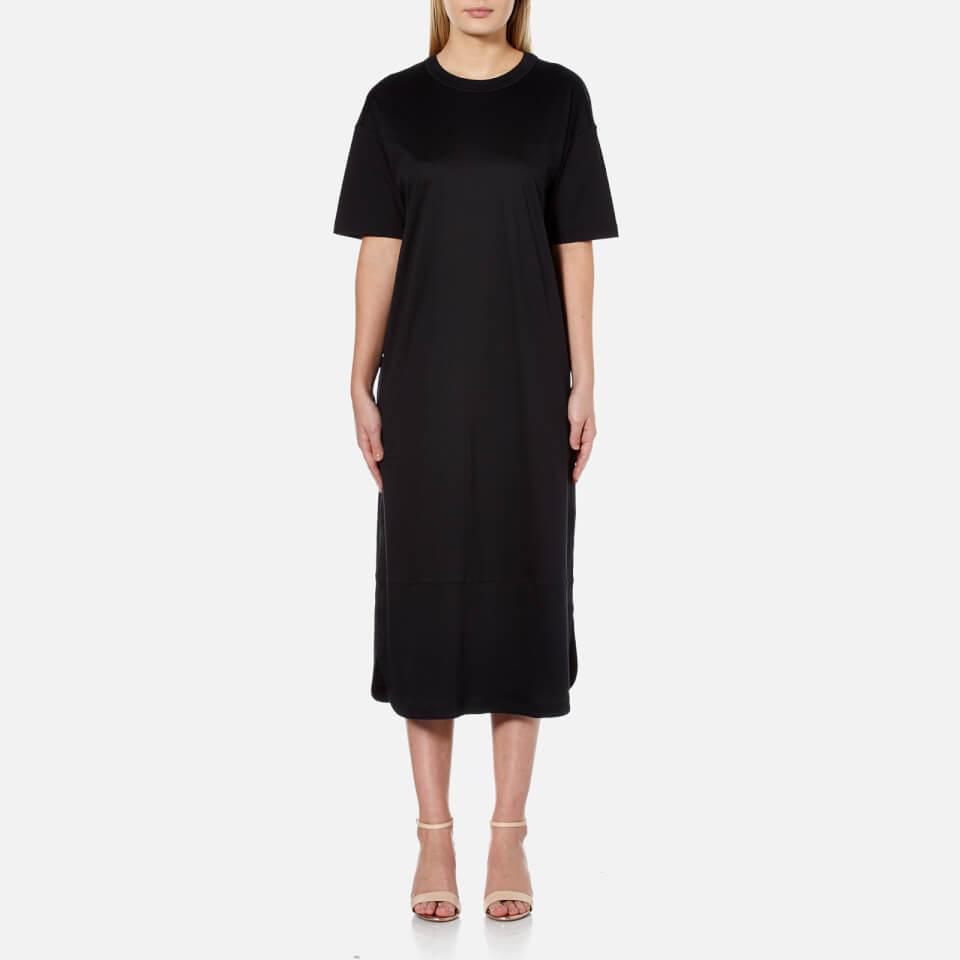 helmut lang women 39 s t shirt dress black free uk. Black Bedroom Furniture Sets. Home Design Ideas