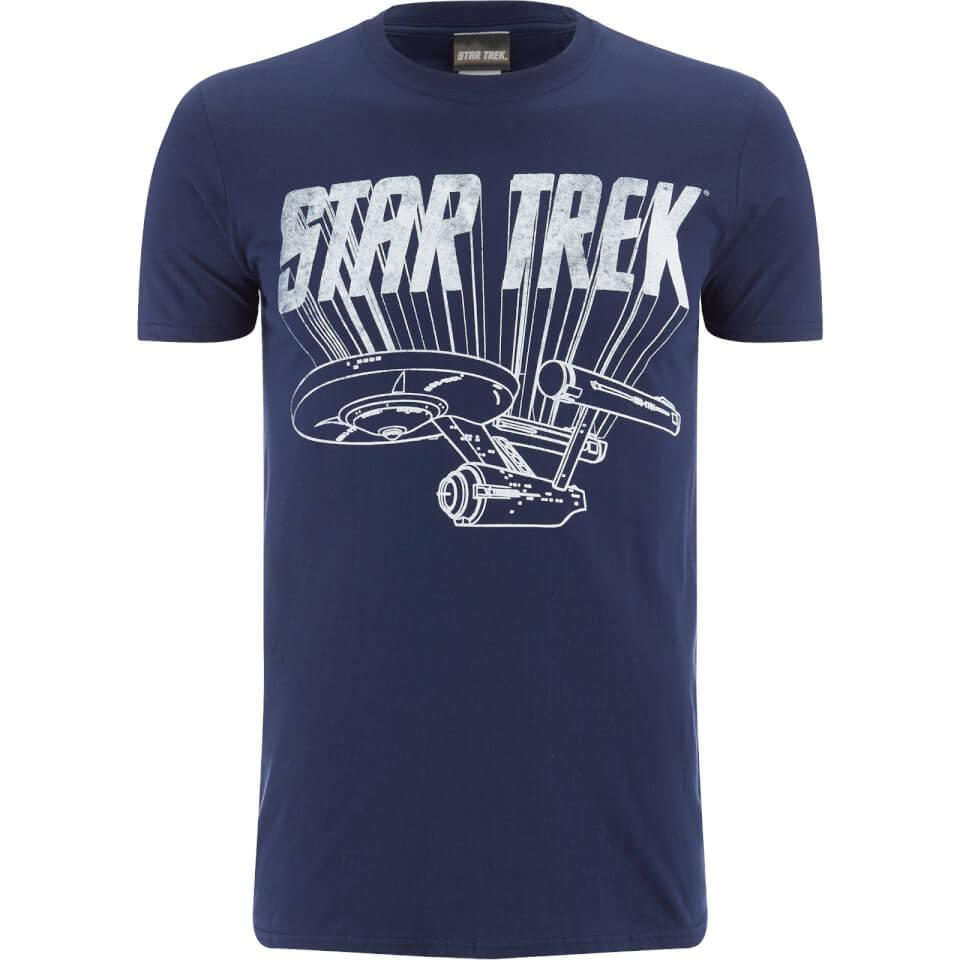 star trek men 39 s original enterprise t shirt black. Black Bedroom Furniture Sets. Home Design Ideas