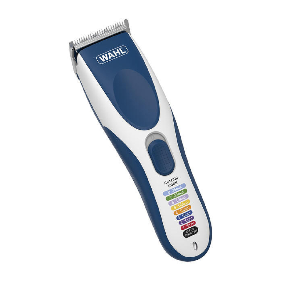wahl colour coded cordless clipper buy online mankind. Black Bedroom Furniture Sets. Home Design Ideas