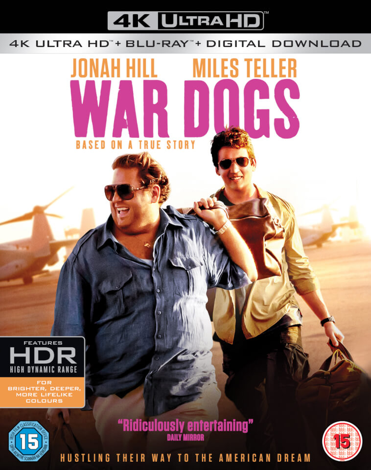 war dogs 4k ultra hd blu ray. Black Bedroom Furniture Sets. Home Design Ideas
