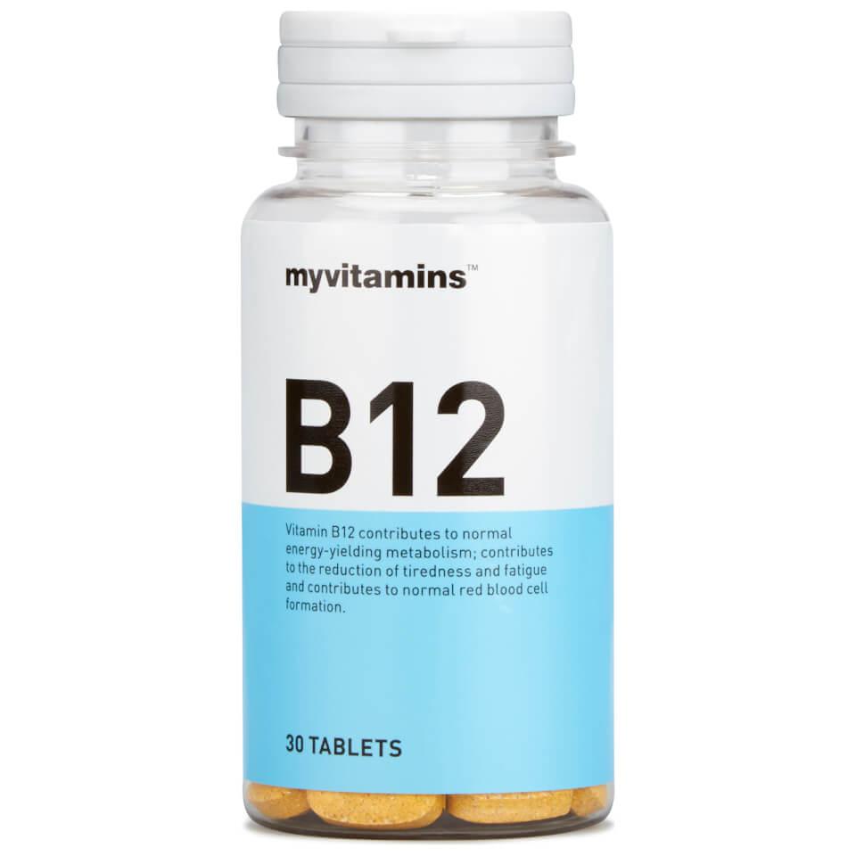 Vitamin B12 Tablets | Vit B12 Vitamin Supplement | Myvitamins