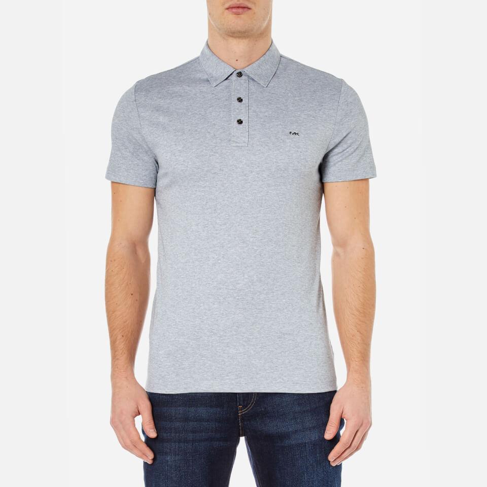 Michael Kors Men's Liquid Cotton Short Sleeve Polo Shirt - Heather ...