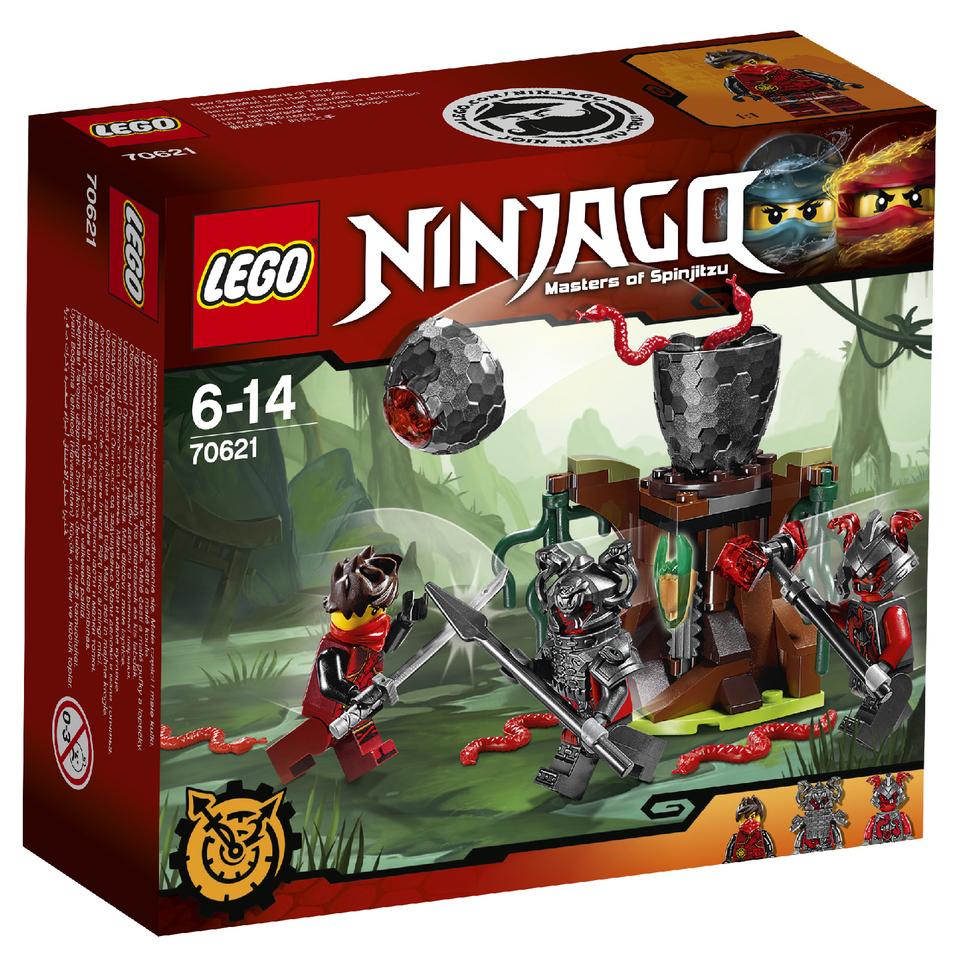 Lego Ninjago Toys : Lego ninjago the vermillion attack toys thehut