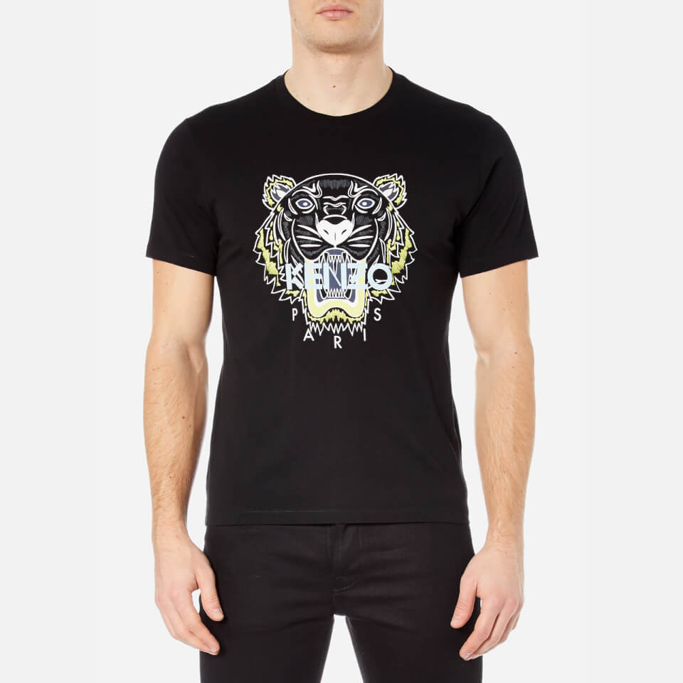 KENZO Men's Printed Tiger T-Shirt - Black