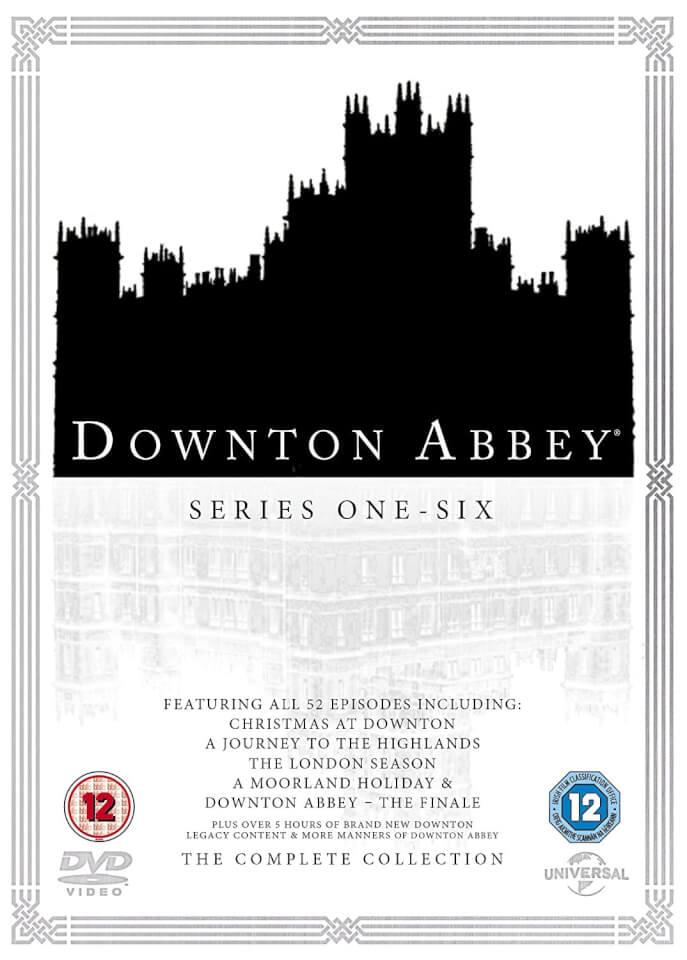 Downton Abbey Series 1 6 With Christmas Specials Dvd Zavvi