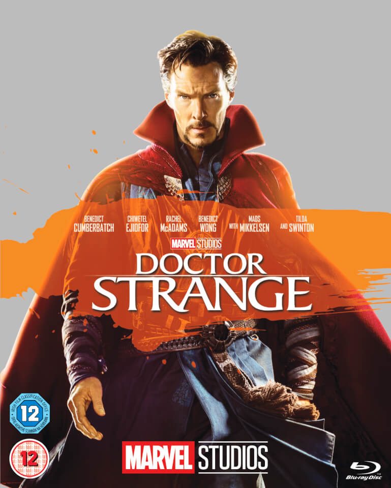 Doctor Strange Blu Ray Zavvi