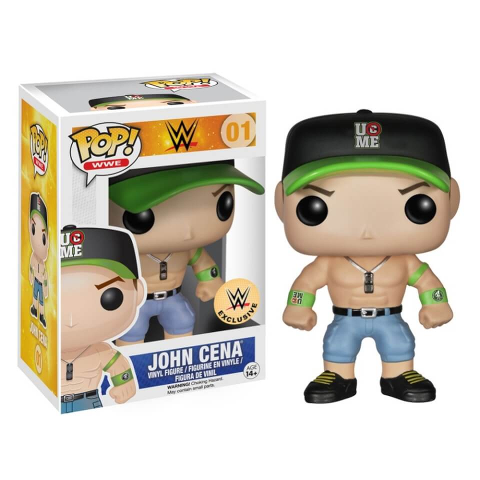 Funko John Cena Wwe Com Exclusive Pop Vinyl Pop In A