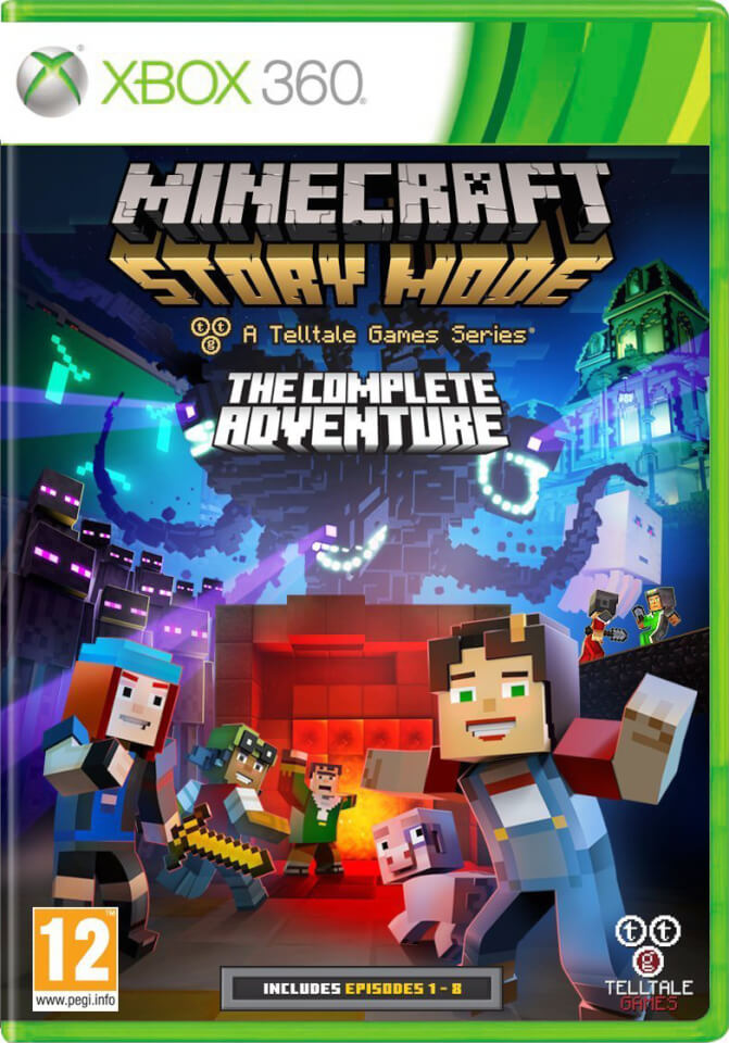 Minecraft Story Mode Complete Adventure Xbox 360 Zavvi