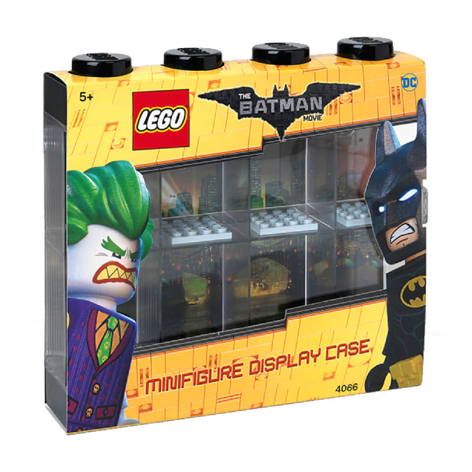 LEGO Batman Minifigure Display Case (Holds 8 Minifigures