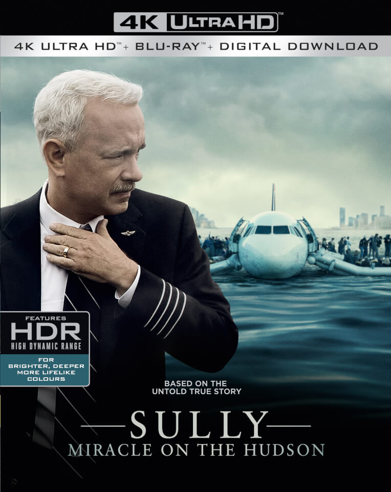 Sully Miracle On The Hudson 4k Ultra Hd Blu Ray Zavvi