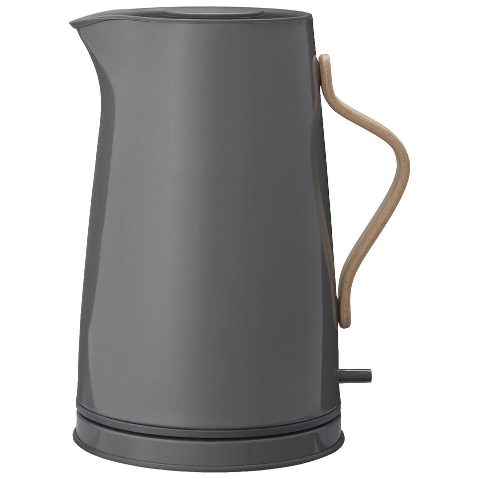 stelton 1 2l emma electric kettle grey haushaltswaren. Black Bedroom Furniture Sets. Home Design Ideas