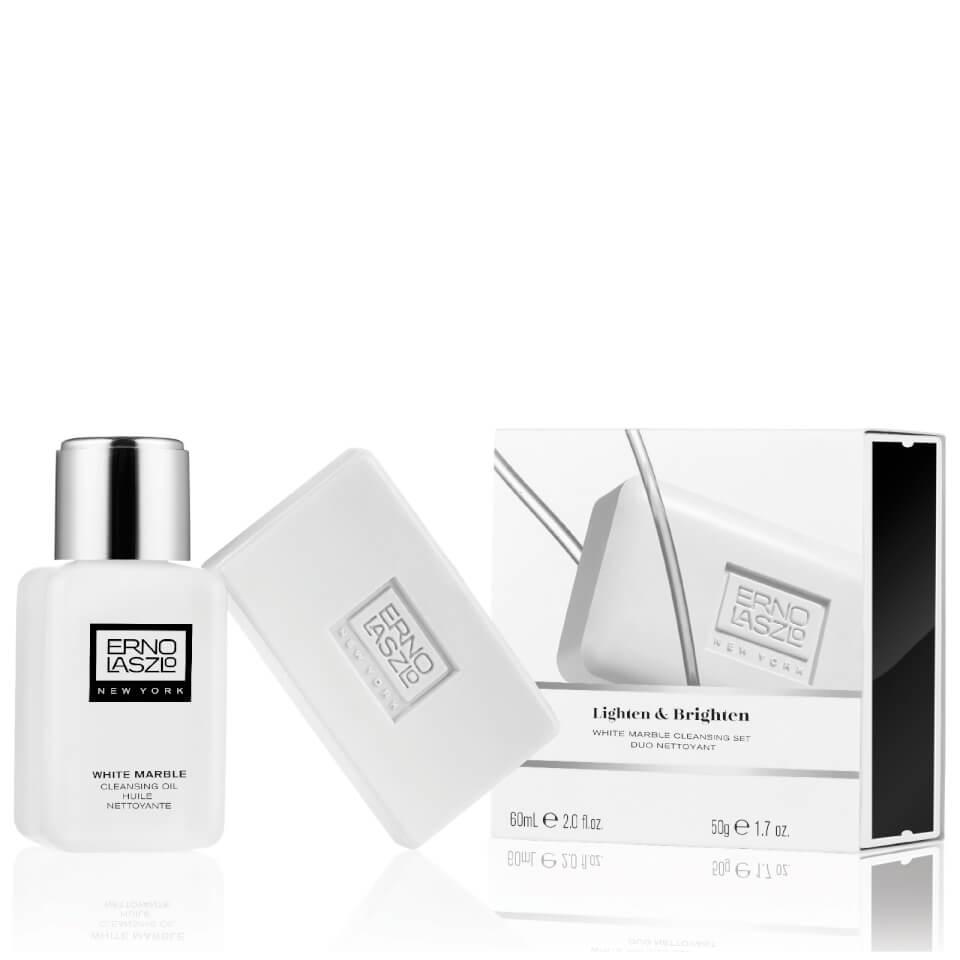 Erno Laszlo White Marble Double Cleanse Travel Set Worth