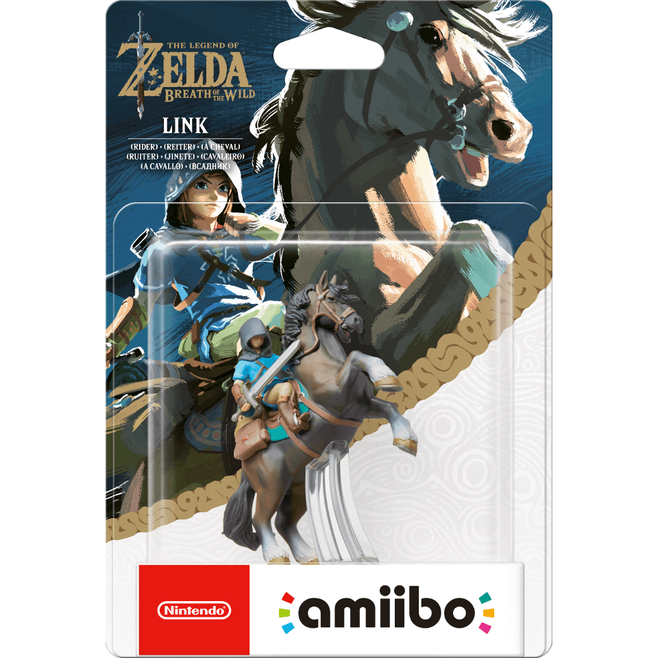 Link Rider Amiibo The Legend Of Zelda Breath Of The Wild Collection