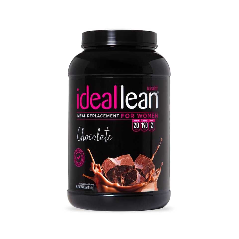 Chocolate Meal Replacement Shake for Women | IdealFit